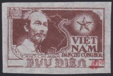 1956 VIETNAM du Nord N°96H** ESG Surchage Rouge, 1956 North Vietnam 12 NGAI MNH