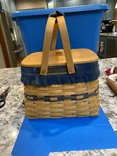 Longaberger 1998 Collectors Club Harbor Basket combo, including lid