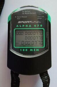 Sportline Alpha 470 Stopwatch