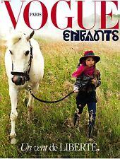 VOGUE Paris ENFANTS A/W 2015 BENOIT PEVERELLI Kids CHILDREN FASHION Bambini @New