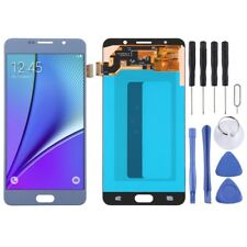 For Samsung Galaxy Note 5 AMOLED Screen Touch Digitizer Glass Part BABY BLUE