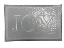 Joy Plaque Stepping Stone Plaster or Concrete Mold 7169 Moldcreations