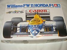 Tamiya 1/20 Williams FW11 Honda F1 Modelo Kit de coche