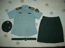 Obsolete 07's China PLA 2nd Artillery Woman Officer Short-sleeved Uniform,Set,A