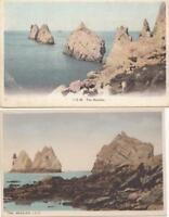 2  X    ISLE of WIGHT   postcards    ( 59B )
