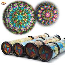 Large Extendable Rotating Kaleidoscope Adjustable Fancy Colour World Optical Toy