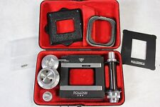 Rare Rolleikin DBP 2 35mm Conversion Adapter Kit for Rolleicord w/ Hard Case!