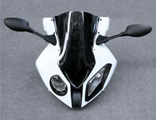 Front Headlight Mirror Bracket Upper Fairing Cowl Nose Set For BMW S1000RR 09-14