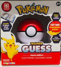 Pokemon Trainer Guess Ball Toy (brand New) Voice Recognition Kanto Edition