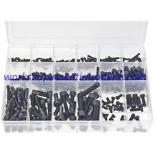 Metric Socket Screws Cap Head - Black. 270 Pieces Max Box AB562