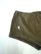 OLUBA Badehose DDR Swimsuit Badeslip 80 Gr.6/ M Herren 70s True Vintage braun