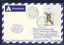 52993) LH 1.Nacht-LP Hannover - Stuttgart 26.10.92, Karte ab UNO Genf