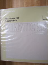 Siemens PG750/PG730 PG 750 730 Simatic S5 Manual - Used
