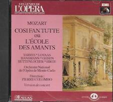 CD album: Mozart: Consifan Tutte ou L' Ecole des Amants.Pierre Colombo. EMI . O