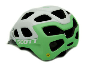 Scott Vivo Plus MIPS Bicycle Helmet Medium 55-59cm, White/Mint Green, $120 MSRP