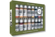 Vallejo 70.125 Skintones Colors Set 16x17ml