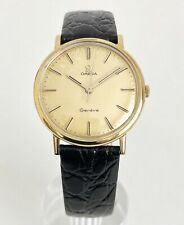 OMEGA GENEVE 20 MICRONS GOLD CAL. 601 DATING TO 1968