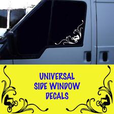 Universal BMX SIDE Window Sticker Decalcomanie Auto Furgone Camion * Leggere descrizione * MTP