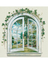 Garden Window Prepasted Accent Mural Imperial 31446150