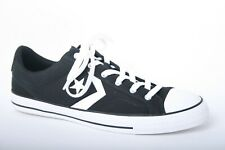 CONVERSE 'Star Player OX' Black & White Canvas Sneakers Men's Sz. 11.5
