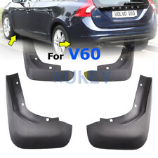 Set Mud Flaps Fit For 2013-2017 VOLVO V60 Wagon / Cross Country Splash Guards