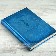 Bleu Vintage le vampire Notebook Diary Journal Calendrier Planificateur Bloc-notes Note #