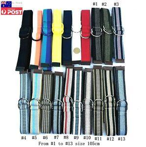25mm Wide School Boy Girl Kids Metal Buckle Canvas Adjustable Belt 90cm or 105cm