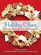 Holiday Cheer: Recipes and Decorating Ideas for Your Best Christmas Ev-ExLibrary