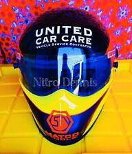 "NHRA Jim Epler RACE WORN Used HELMET Funny Car NITRO ""Rare"" DRAG RACING Matco"