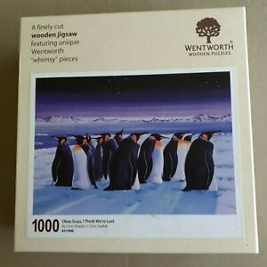 Wentworth Wooden Jigsaw Puzzle - Okay Guys, I Think We're Lost - 1000 pieces