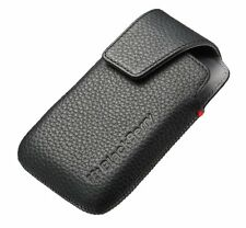 OEM BLACKBERRY Bold 9790 BLACK LEATHER SWIVEL HOLSTER POUCH CASE COVER NIB