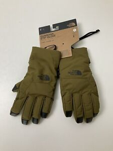 North Face Guardian Etip Gloves BRAND NEW Size S Military Olive Green Rrp £45