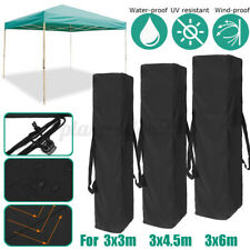 Garden Canopy Tent Carry Bags Gazebo Storage Outdoor Camping Waterproof Anti-UV