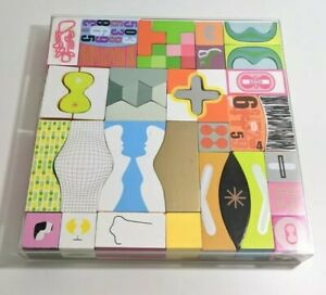 Karim Rashid Kozmos Block Set by Bozart 2001 Pop Art Modern Abstract RARE