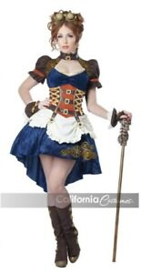 STEAMPUNK FANTASY ADULT WOMENS COSTUME