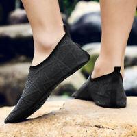 Mens Water Shoes Quick-Dry Aqua Socks Barefoot Beach Swim Surf Exercise US 7-15