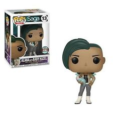 FUNKO POP COMICS SAGA ALANA W/ BABY HAZEL #13 SPECIALTY SERIES NEW VINYL FIGURE
