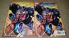2 Marvel Comic Spiderman 1 NM Canadian Expo Variant signed JenkinsHTF RARE Venom