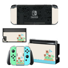 Animal Crossing Skin vinyl Sticker Nintendo Switch Console & Controller Decal X1