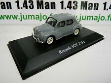 CH13G: Coches Collar Atlas Ixo Chapatte: Renault 4CV 1951