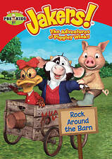 Jakers The Adventures of Piggley Winks: Rock Around the Barn (DVD, 2014) New