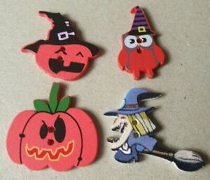 Crafting Pieces From 99p - Halloween - Uk FREEPOST-Make Your Own Fridge Magnets
