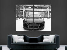 AUDI A5 BLACK CAR POSTER AA462 Photo Picture Poster Print Art A0 A1 A2 A3 A4