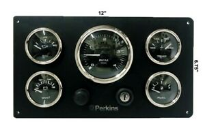 Perkins Engine Marine Instrument Panel Pre Wired USA Made