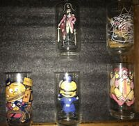 NOS: new LOT 5 Vintage 1977 McDonalds COLLECTOR SERIES Glasses different series