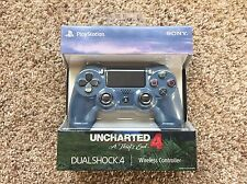 SONY PS4 UNCHARTED 4 DUALSHOCK 4 WIRELESS CONTROLLER - PLAYSTATION 4, NEW, RARE