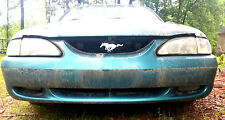 94 95 96 97 98 Ford Mustang ___ FRONT BUMPER COVER (PS) PACIFIC GREEN