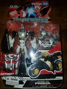 Transformers Animated Tokyo Toy Festival 2010 TA-05 Spy Elite Guard White Prowl