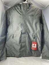 Brand New The North Face Mens Inlux Insulated Jacket Coat Gray Heather Small