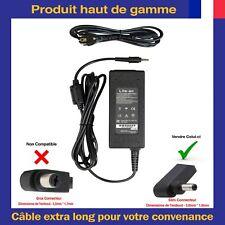 Chargeur Alimentation 19V 2,37A 45W 3,0*1,0mm Pour PC Portable Asus Acer Samsung